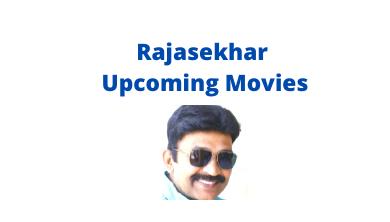 Rajasekhar Upcoming Movies