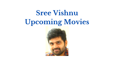 Sree Vishnu Upcoming Telugu Movies