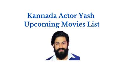 kannada actor yash upcoming movies