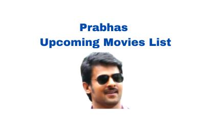 prabhas upcoming movies list