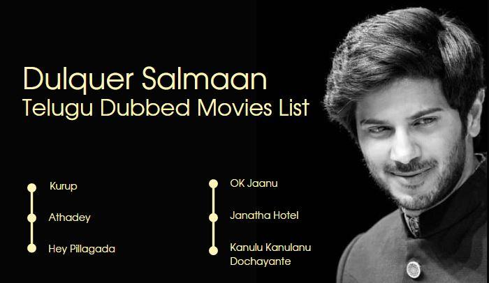 Dulquer Salmaan Telugu Dubbed Movies List