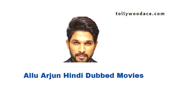 Allu Arjun Hindi Dubbed Movies
