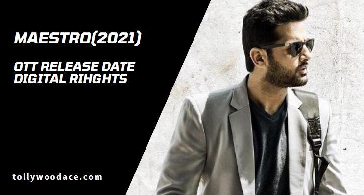 Maestro Telugu Movie OTT Release Date