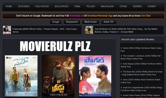 Movierulz Plz Telugu Movies 2021 Download