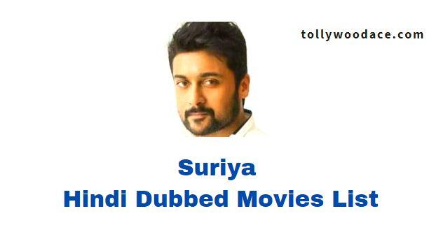 Suriya Hindi Dubbed Movies List