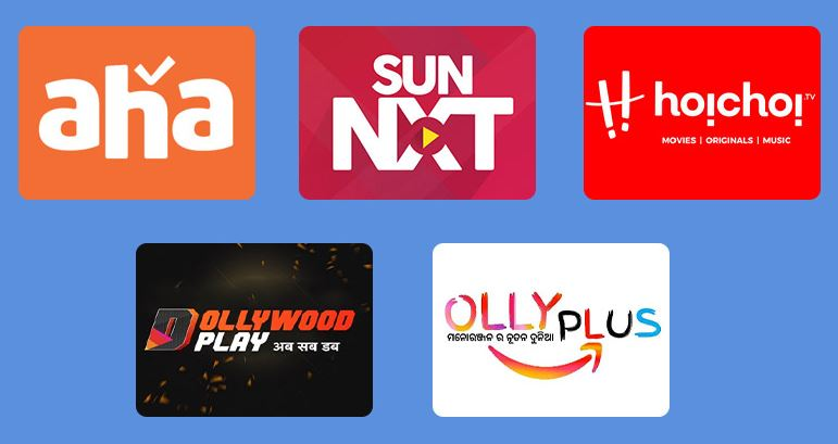 Top OTT platforms In India with Regional Content