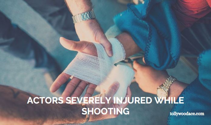 actors severely injured while shooting