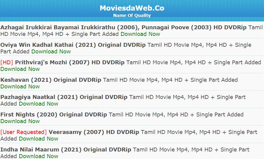 moviesda tamil dubbed movies download 2021-22