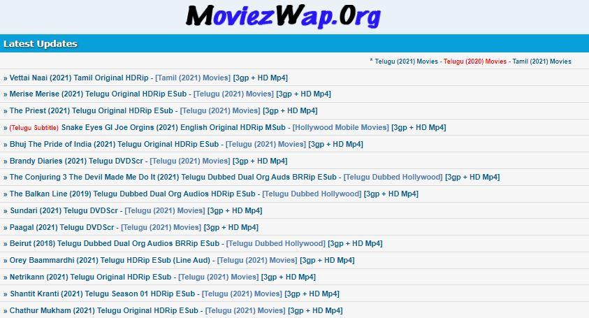 moviezwap telugu movies 2021 download