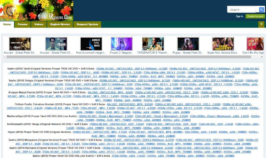 tamilrockers 2021 telugu movies download